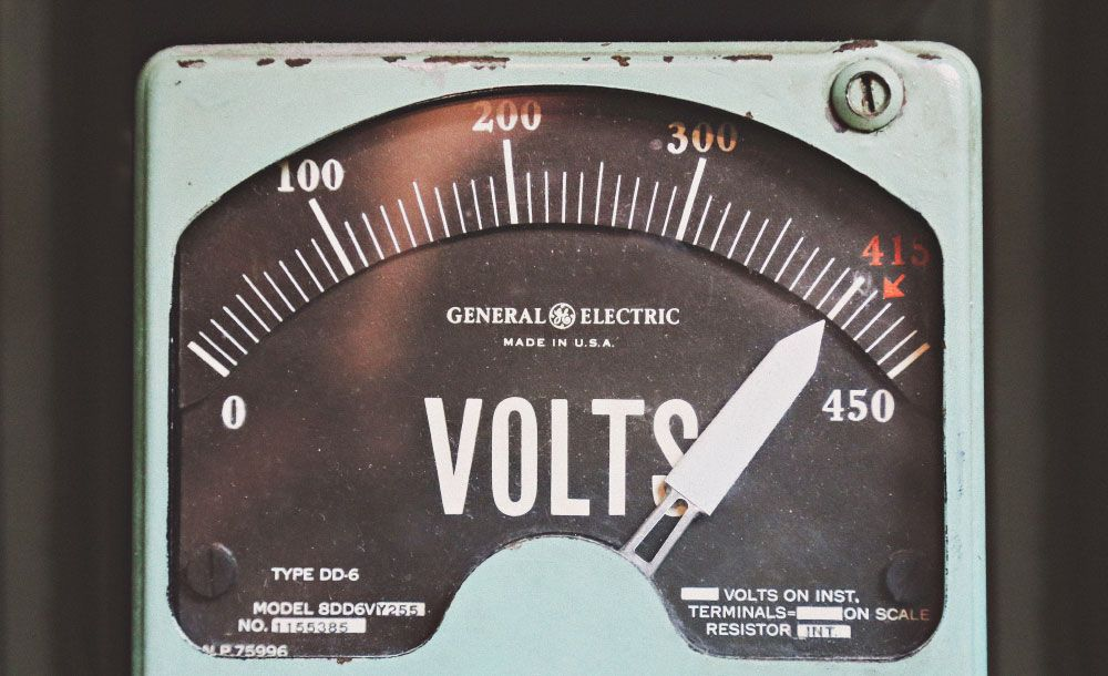 electric Voltmeter