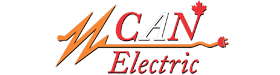 Can Electric: Edmonton Electrical Contractor Logo