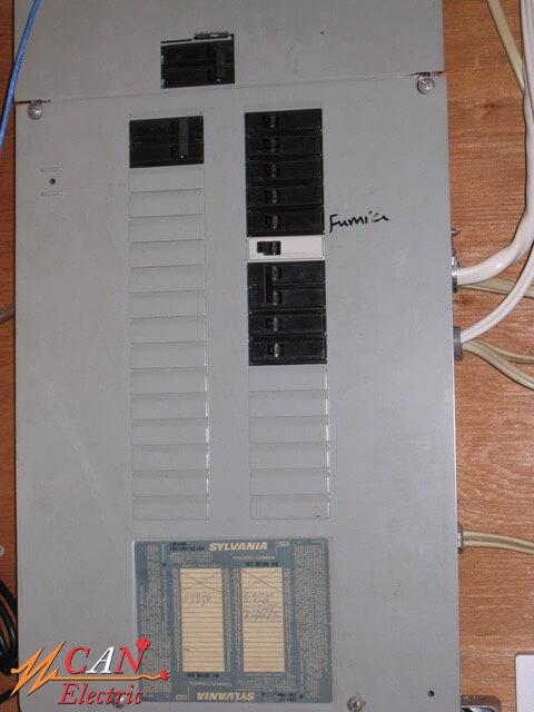 Electrical panel Edmonton