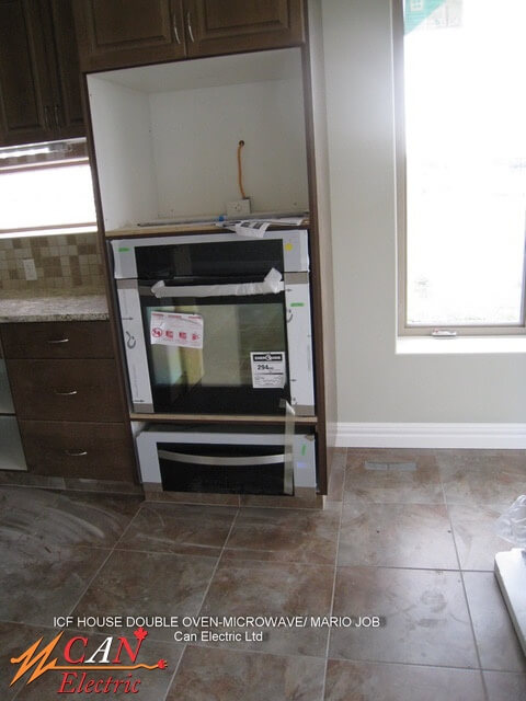House double oven-microwave