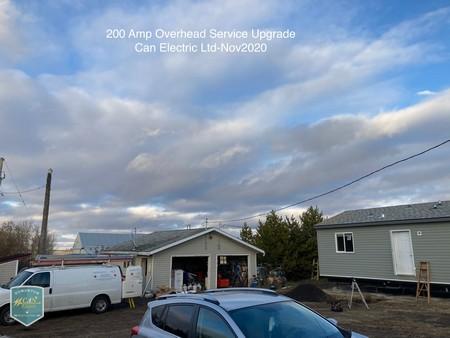 200 amp overhead service upgrade edmonton