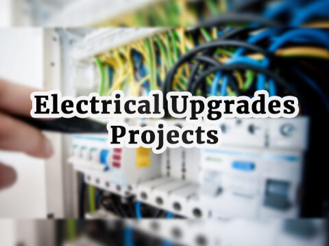 electrical upgrades projects and others