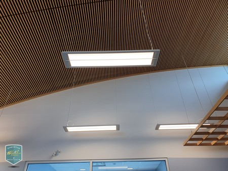 led commercial light supply and wirings