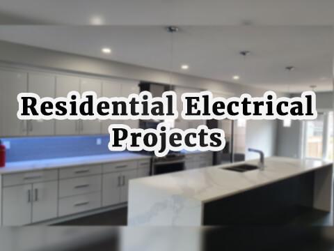 residential electrical projects