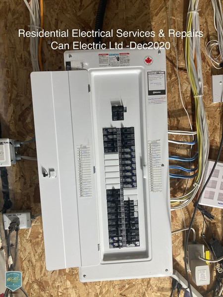 residential electrical services and repairs 2020