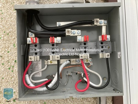 two 100 amp meter wirings canelectric nov 2020