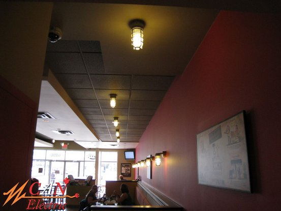 Edmonton restaurant lighting