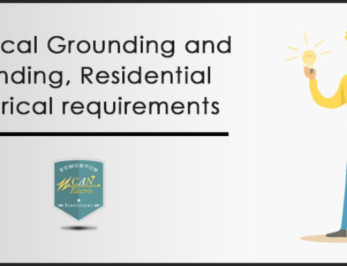 Electrical Grounding and bounding, Residential electrical requirements