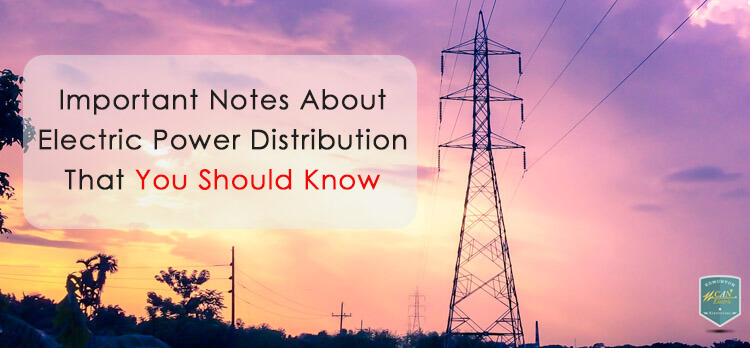 Electrical power distribution, edmonton service upgrades, and important notes about electric power distribution that you should know