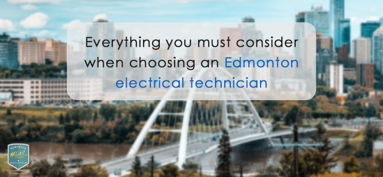choosing an edmonton electrical technician
