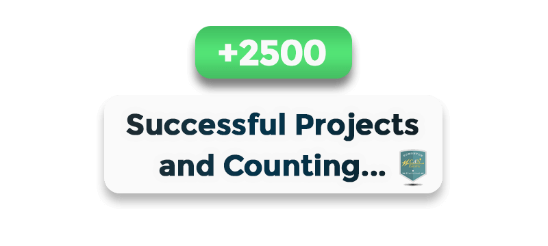 over 2500 successful projects Can Electric