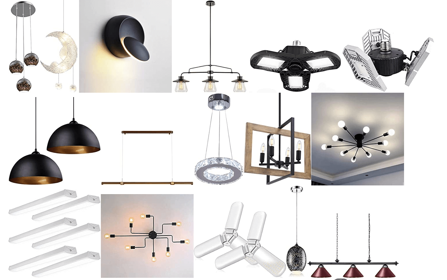 light fixtures 4