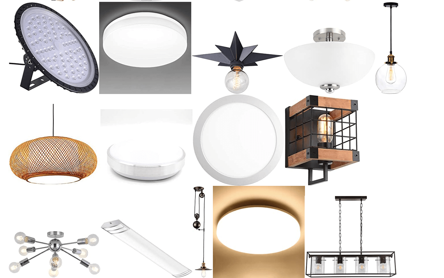 light fixtures 6
