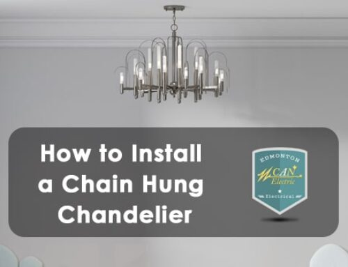 How to Install a Chain Hung Chandelier in Edmonton